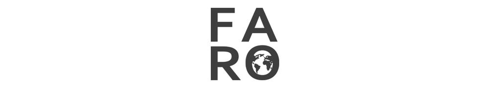 FARO.design header image containing the logo for smartphones