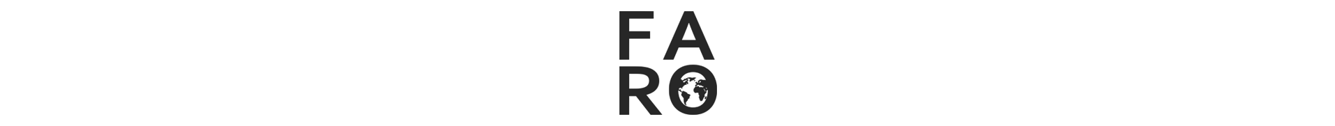 FARO.design header image containing the logo for web.